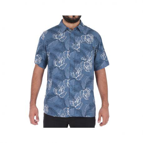 Camisa Oakley SR002 Hombre Azul