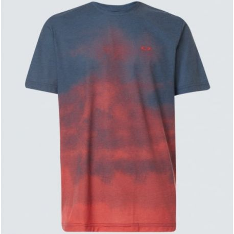T-shirt SUNSET FADE TEE SMOKE POPPY RED S
