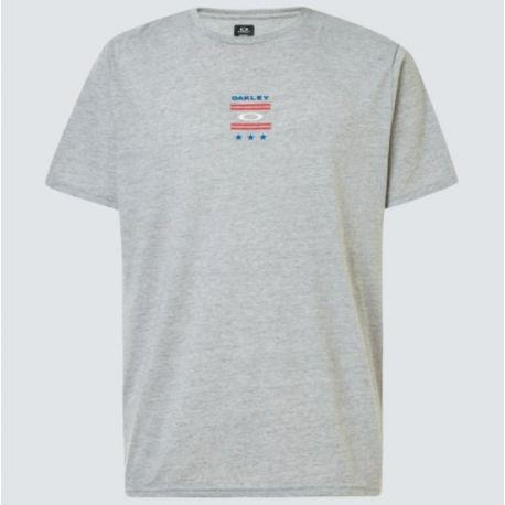 T-shirt USA TEE NEW GRANITE HTHR S