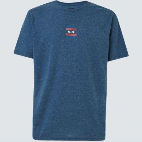 T-shirt USA TEE UNIVERSAL BLUE HTHR S