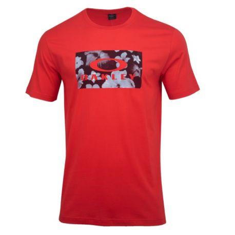 T-shirt FLOWER BLOCK TEE POPPY RED S