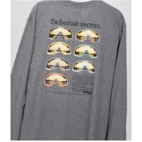 T-shirt HERITAGE EYESHADE LS TEE NEW ATHLETIC GREY S