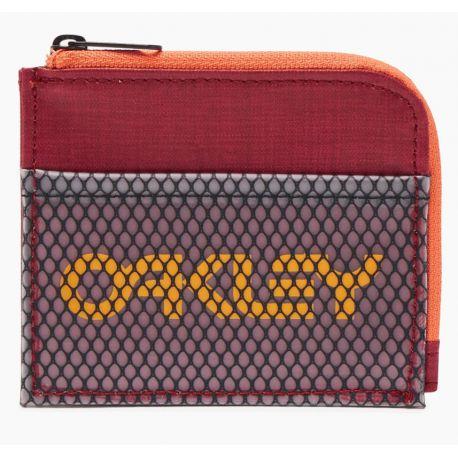 Billetera Oakley 90'S Zip Small Wallet Unisex Tomato
